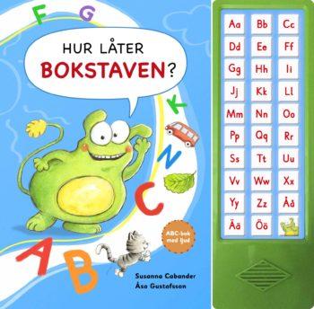 Hur låter bokstaven ABC-bok med ljud framsida